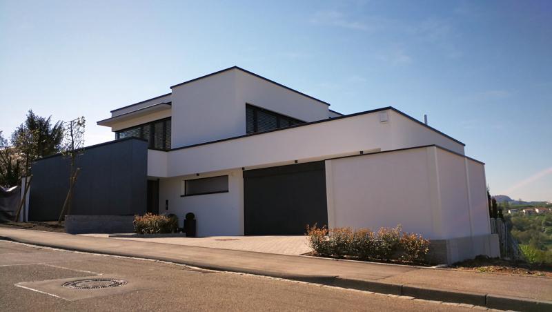 Modulare Wandsysteme Sichtschutz Bauhaus-Stil Variante II