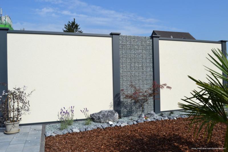 Modulare-WandsystemeSichtschutzmitSteinkorbimWechsel
