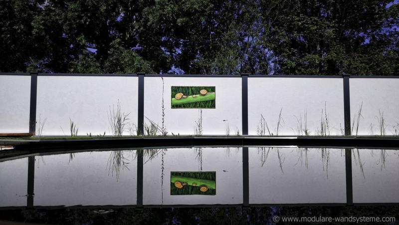 Acrylbilder-Schnecken-Andrea-Bastuck-Modulare-Wandsysteme
