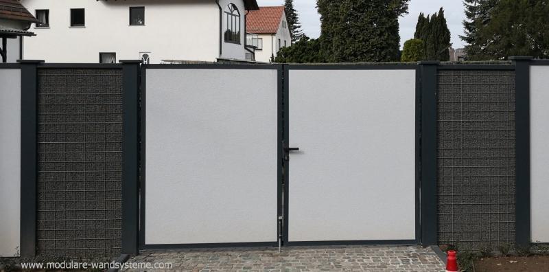 Modulare-Wandsysteme-mit-Split-Gabione-und-310-m-Tor