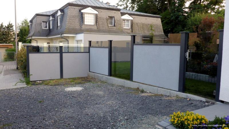 Modulare-WandsystemeGartenmauermitGlastuere