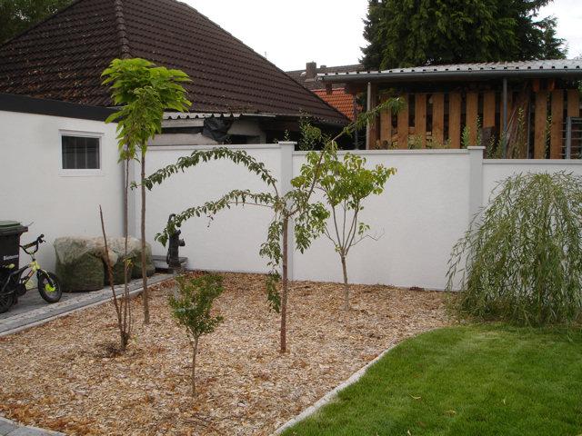 Gartengestaltung Sichtschutz Mauer – igelscout.info