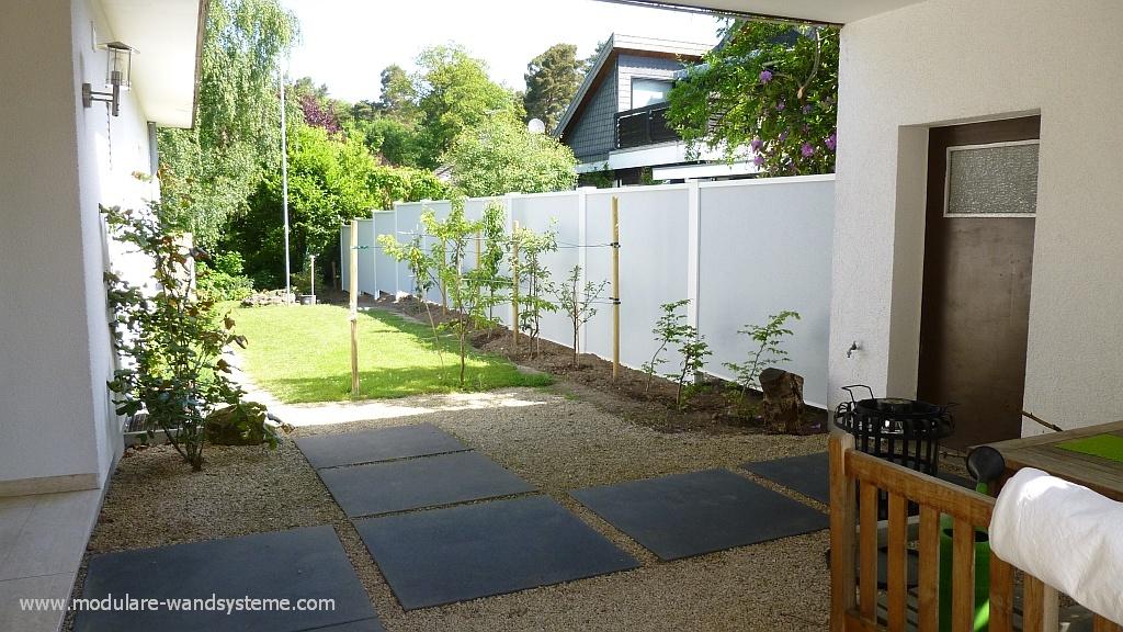 Sichtschutz Holz HOhe 160 Cm ~ Bambus Sichtschutz Lebensdauer  Hohe Sichtschutz Betonelemente Mit